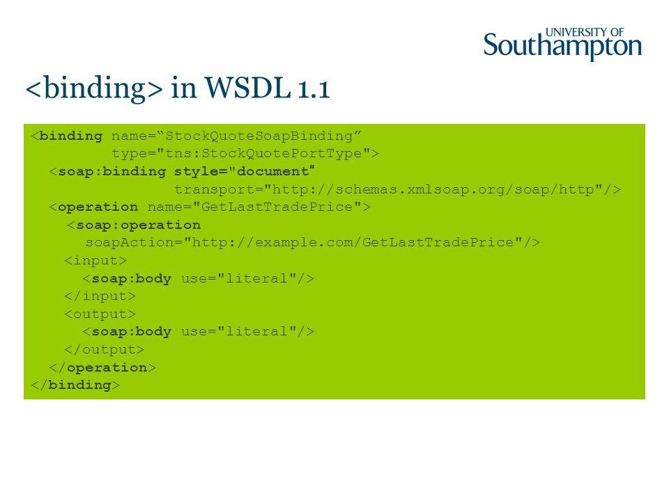 in WSDL 1.1