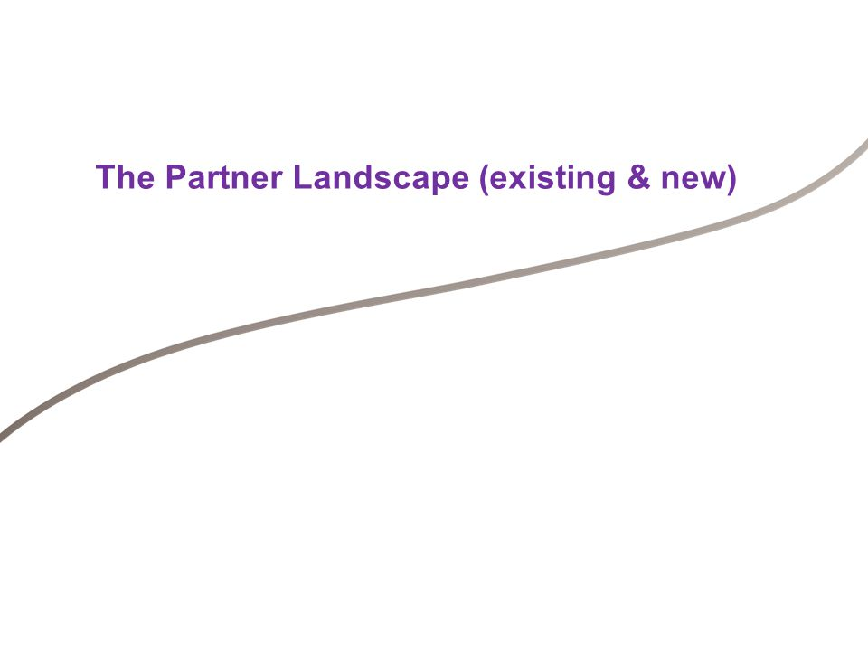 Engagement and Management of partners