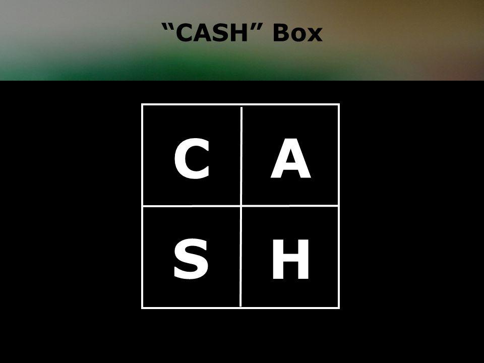 CASH Box A H C S