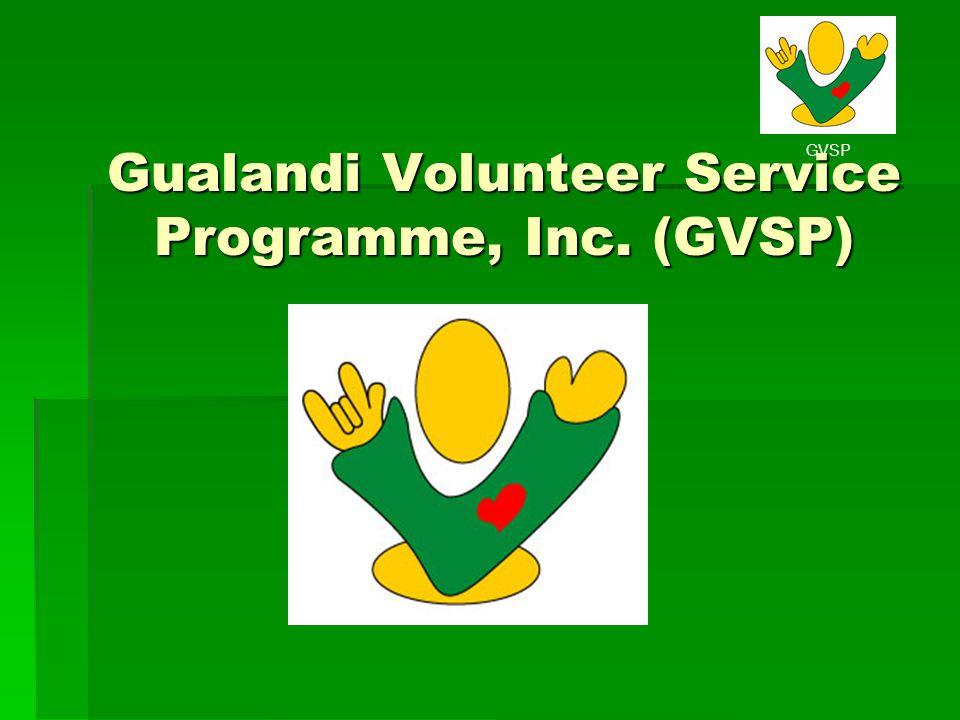 GVSP Gualandi Volunteer Service Programme, Inc. (GVSP)