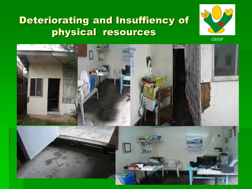 GVSP Deteriorating and Insuffiency of physical resources