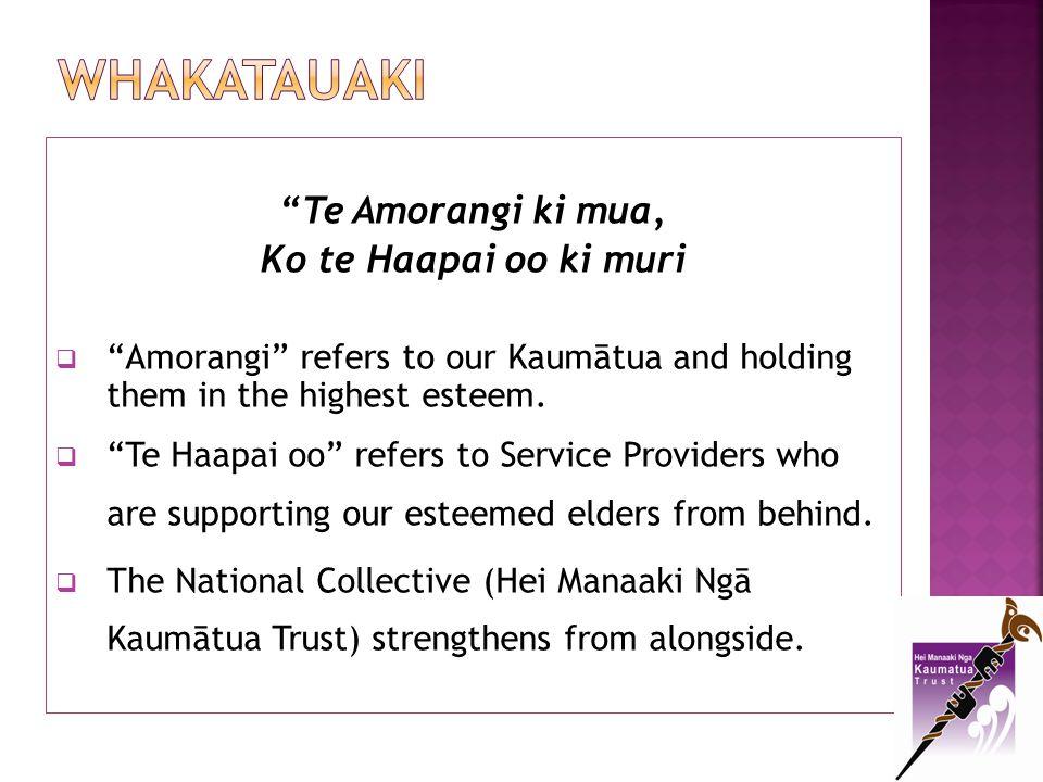 2013 National Conference 6-8 th November 2013 in Palmerston North Conference Theme: Te Amorangi ki mua, Ko te Haapai oo ki muri Opportunity for provider input into Conference Programme.