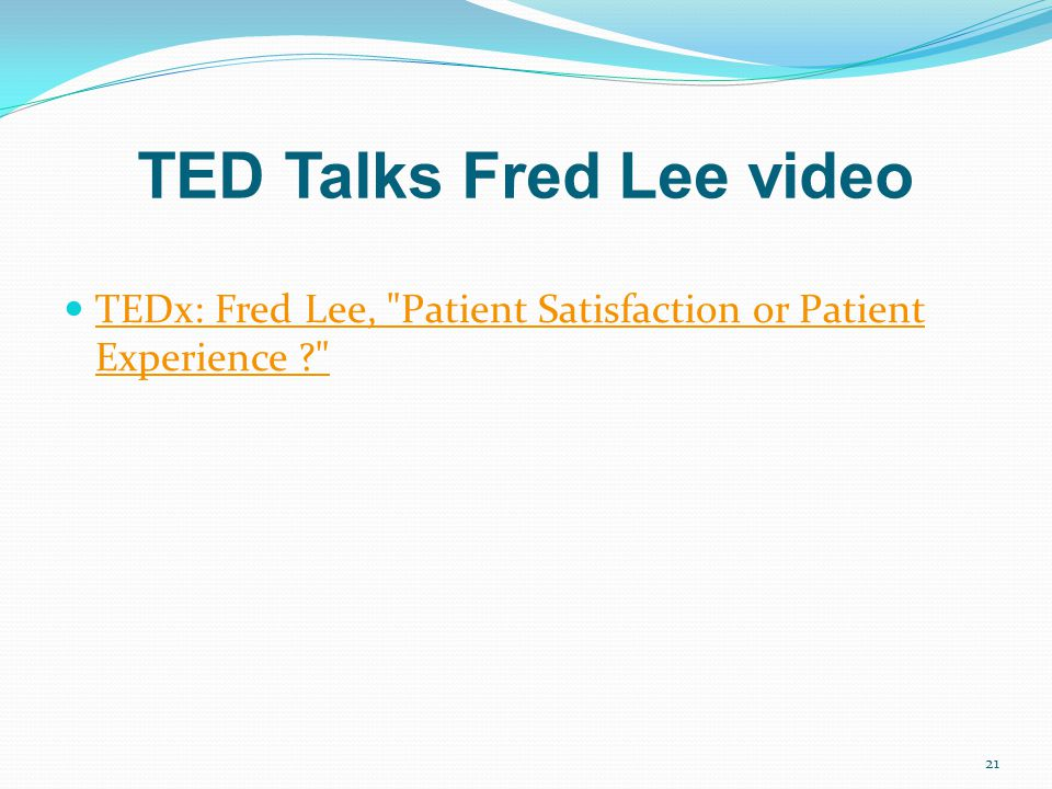 TED Talks Fred Lee video TEDx: Fred Lee,
