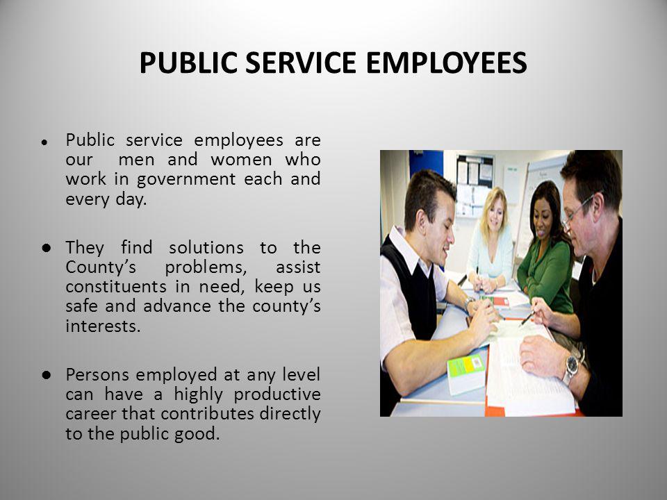 PUBLIC SERVICE PROFESSIONS