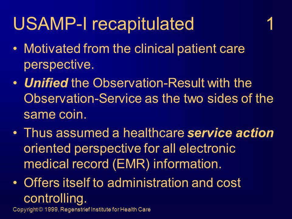 Copyright © 1999, Regenstrief Institute for Health Care … the splitters model.