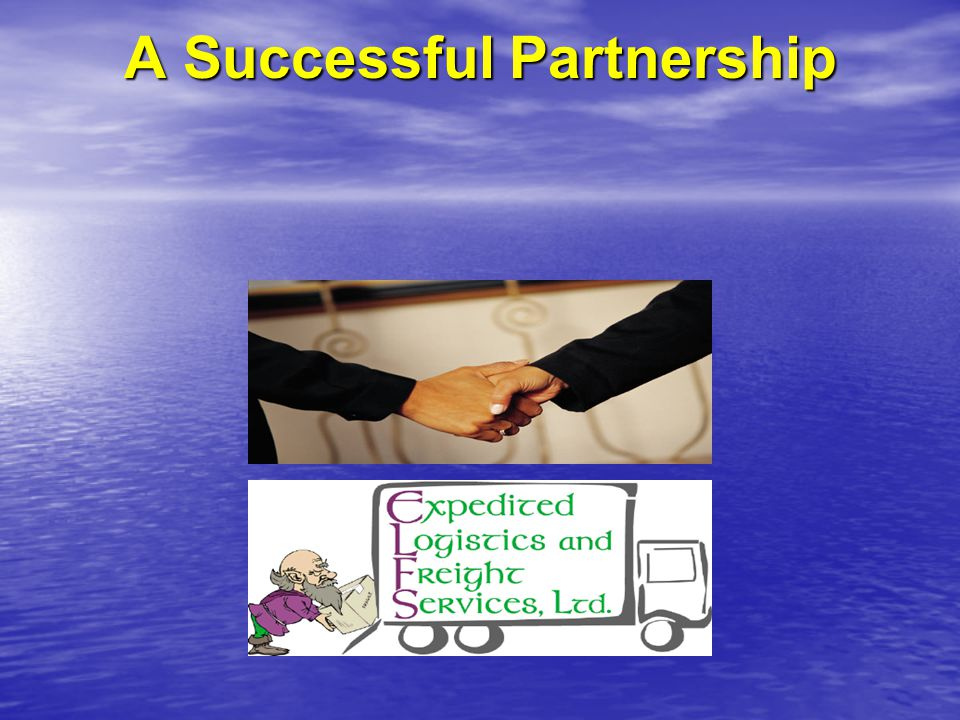 A Successful Partnership
