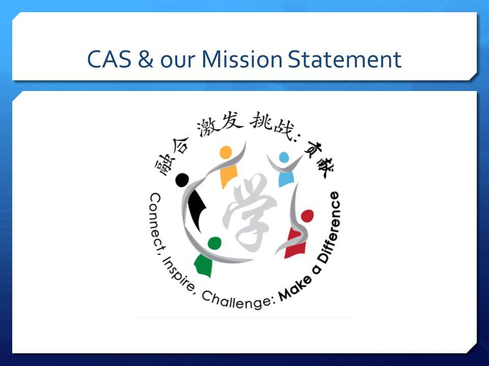 CAS & our Mission Statement