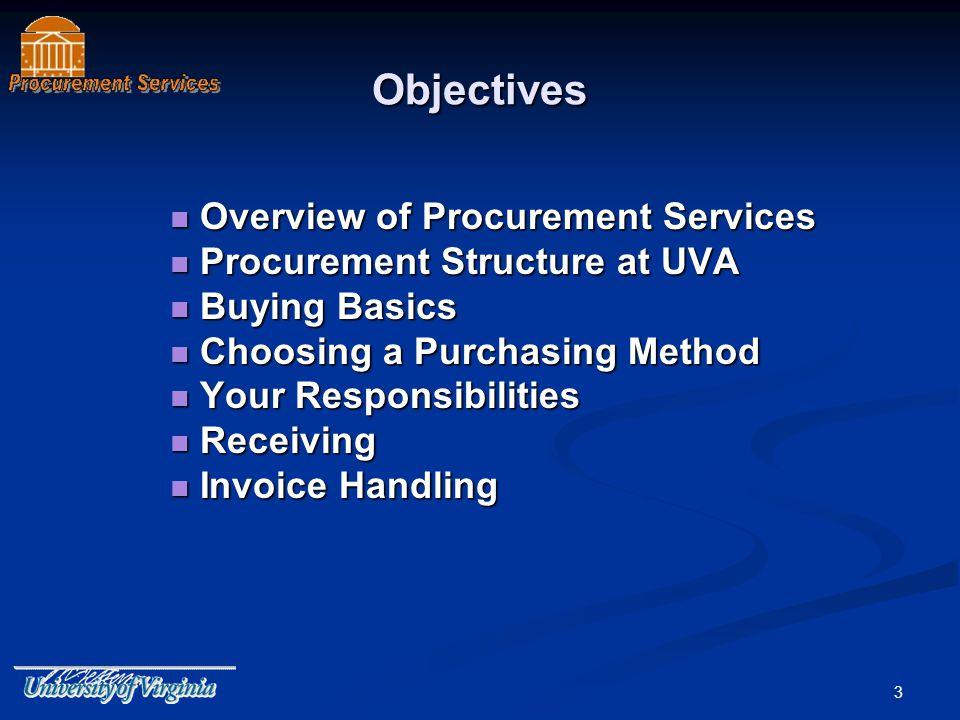 4 Overview of Procurement Services Main Topic Areas Main Topic Areas Quick Tools Quick Tools Stay Informed Stay Informed Whats New.