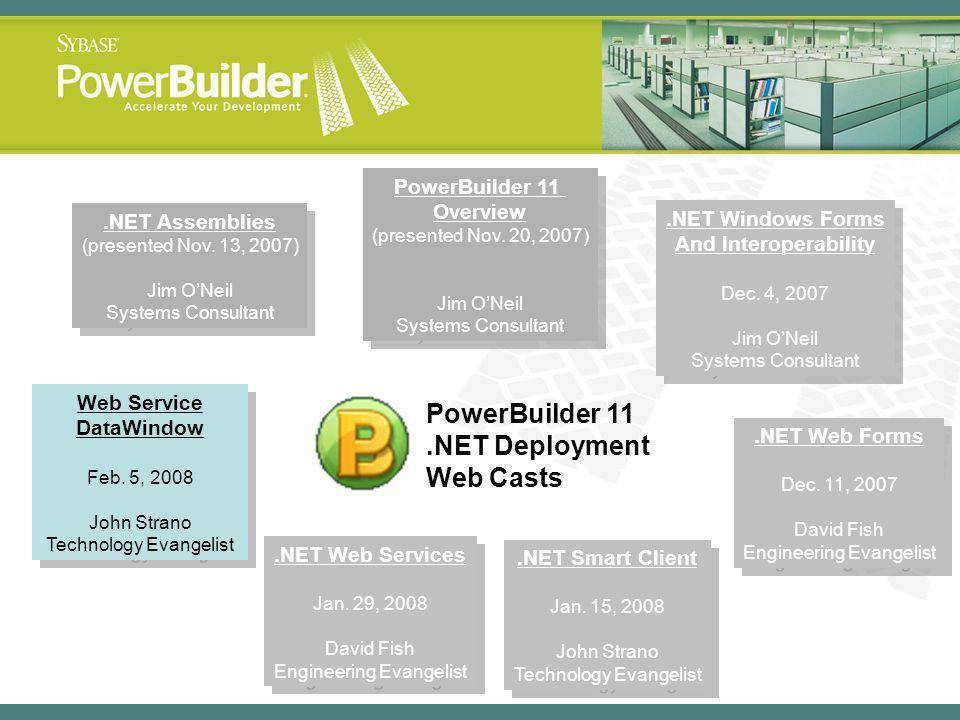 .NET Assemblies (presented Nov.