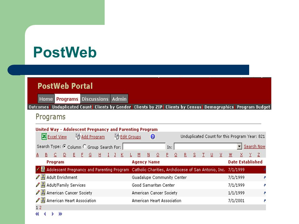 PostWeb