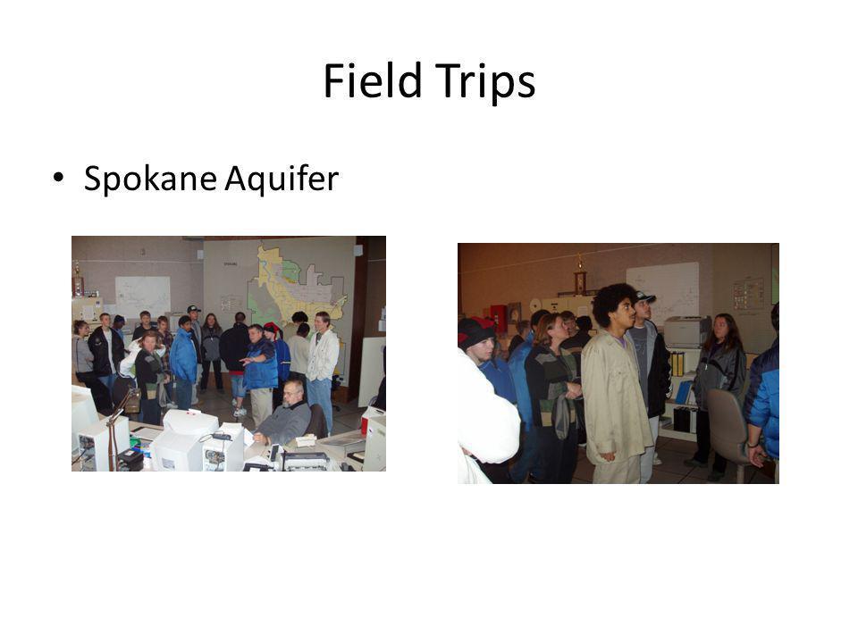 Field Trips Spokane Aquifer