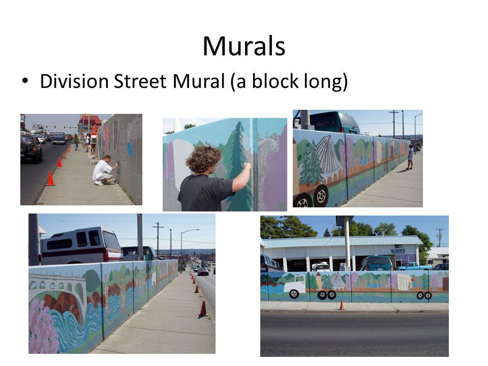 Murals Division Street Mural (a block long)