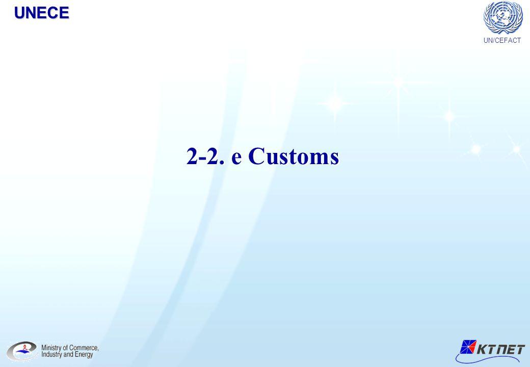 2-2. e Customs UN/CEFACTUNECE