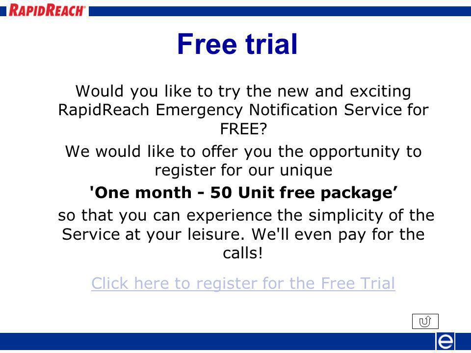 Act on the result Ring!. This is RapidReach calling with an important message.