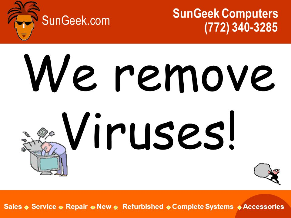 We remove Viruses.