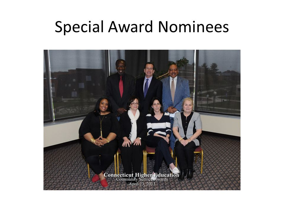 Special Award Nominees