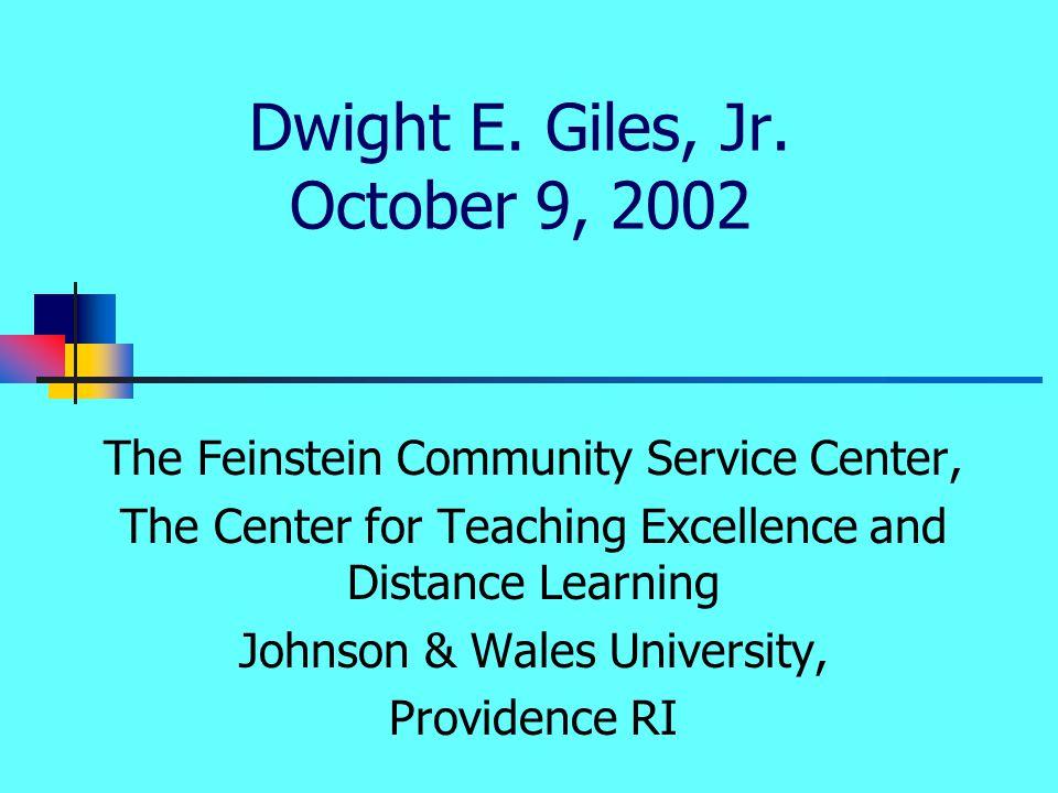 Dwight E. Giles, Jr.
