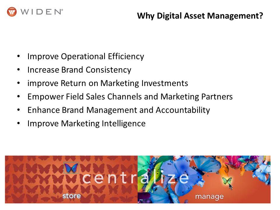 Why Digital Asset Management.
