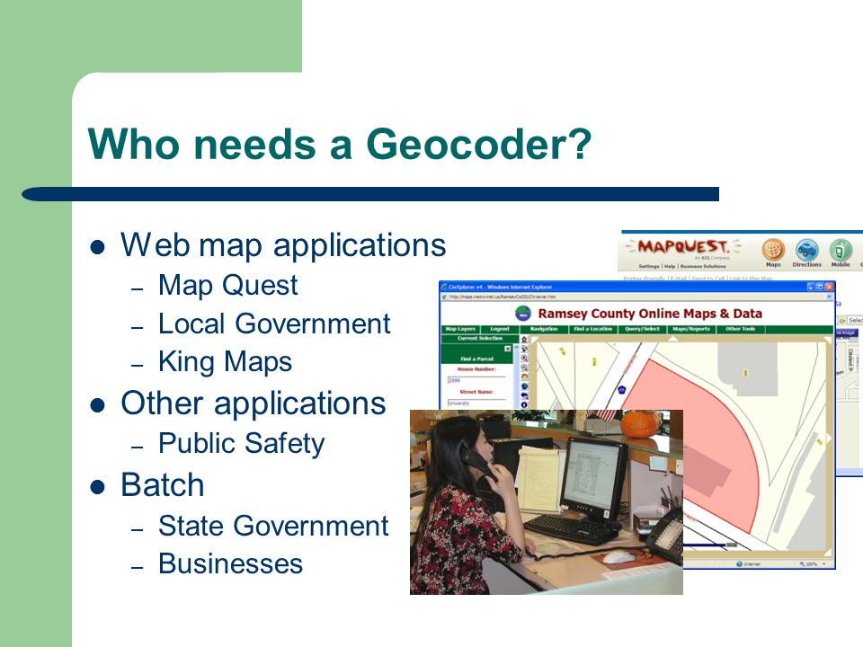 Who needs a Geocoder.