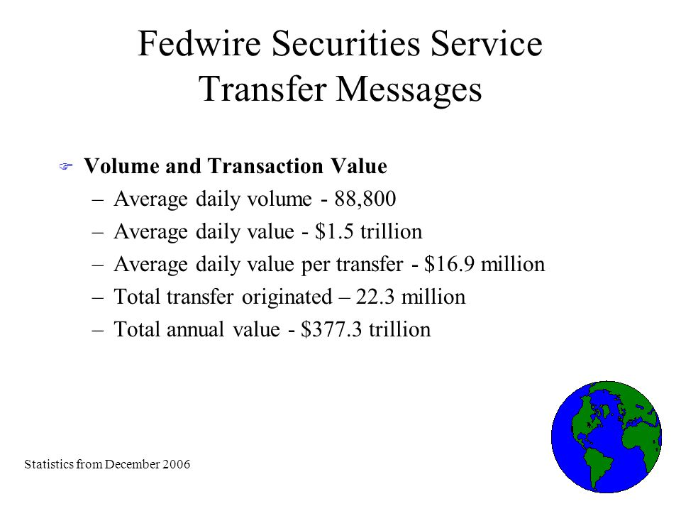 Fedwire Funds Service Legal Legal underpinnings of the Fedwire Funds Service: F State law adopted in all states: UCC Article 4A F Federal regulation adopted by the Board of Governors of the Federal Reserve: Regulation J, subpart B F Federal Reserve Banks Operating Circular 6: Funds Transfers Through Fedwire