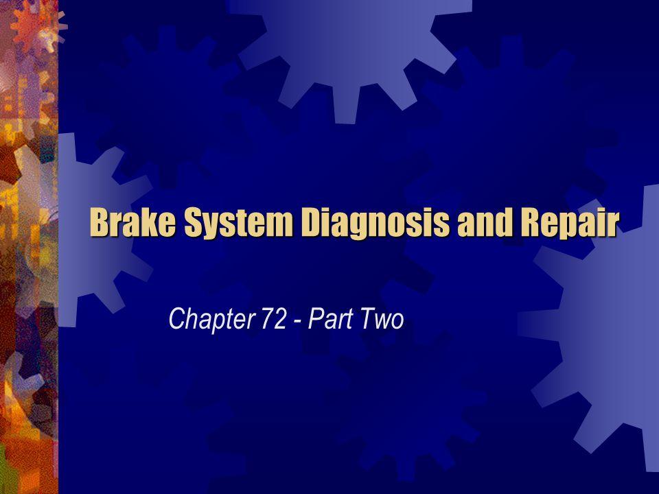 Disc Brake Service Disc Brake Service The twelve steps for replacing worn disc brake pads are: 10.