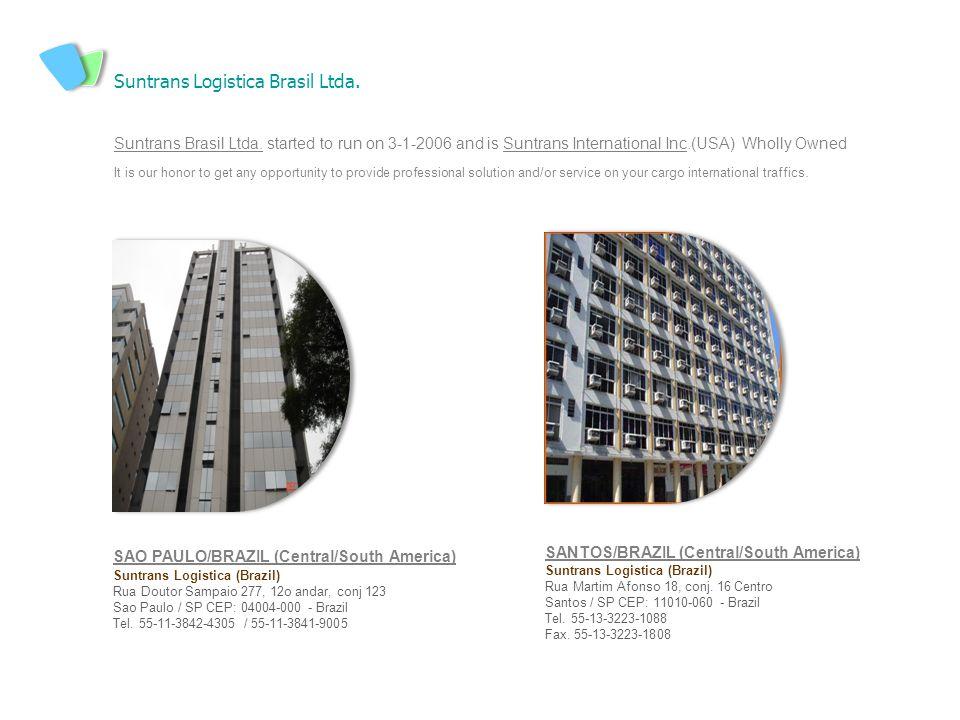 Suntrans Logistica Brasil Ltda.