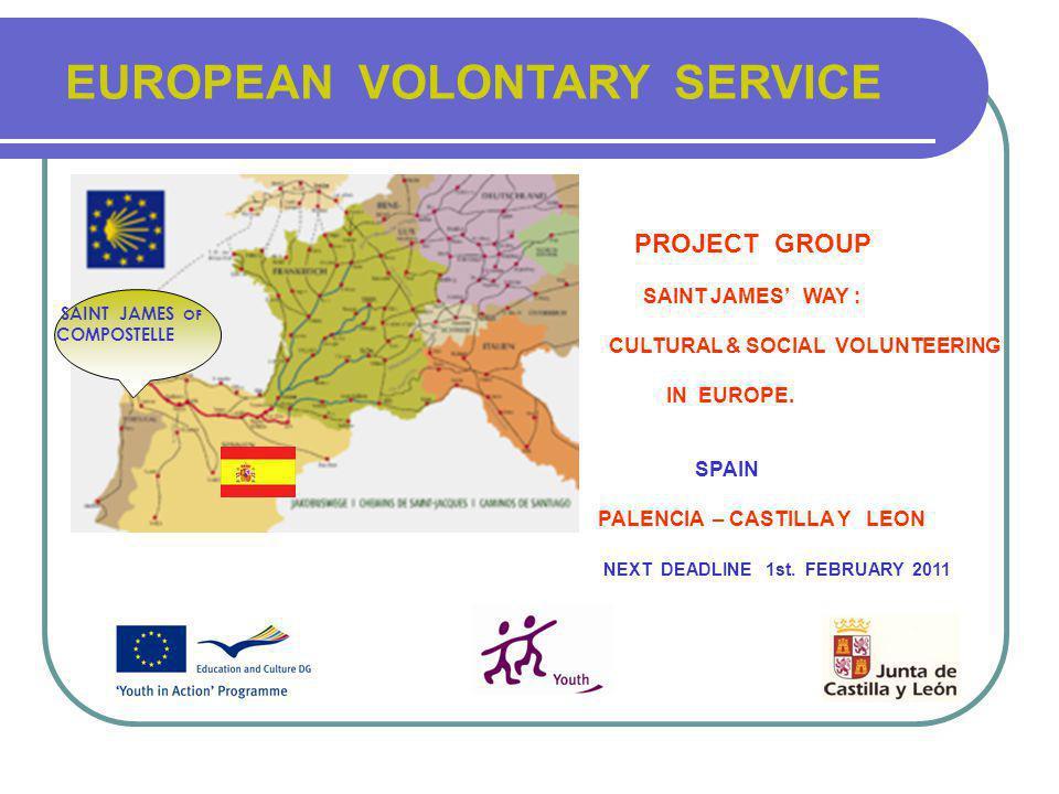 SAINT JAMES WAY : CULTURAL & SOCIAL VOLUNTEERING IN EUROPE.
