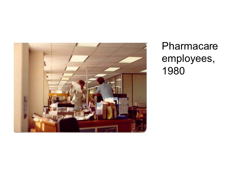 Pharmacare employees, 1980