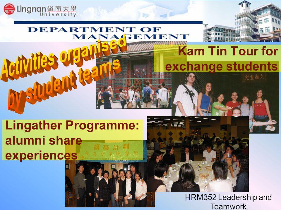 Lingather Programme: alumni share experiences Kam Tin Tour for exchange students