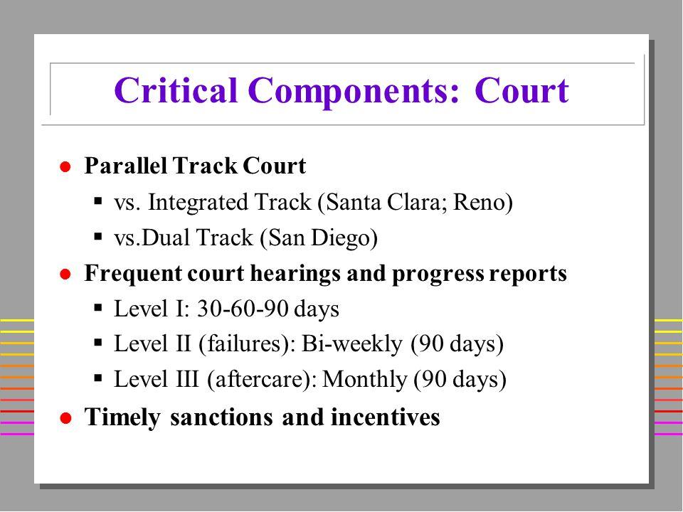 l Parallel Track Court vs.