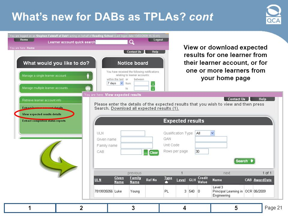 12543 Page 21 Whats new for DABs as TPLAs.