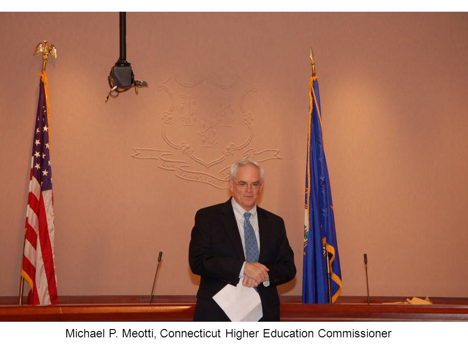 Michael P. Meotti, Connecticut Higher Education Commissioner