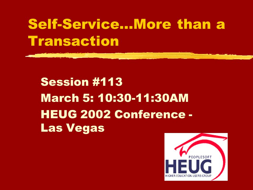 Session #-and Name22 http://www.hrss.umn.edu zLessons Learned zLooking Ahead yPeopleSoft 8.0 yLife Events yApplicant Self-service yManager Self-service