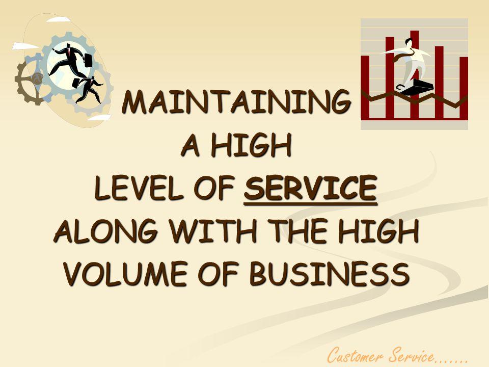 SERVICE!!