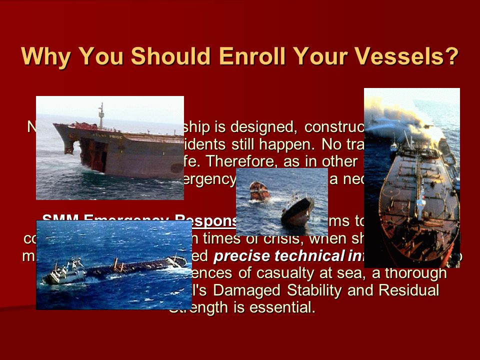 Why You Should Enroll Your Vessels.