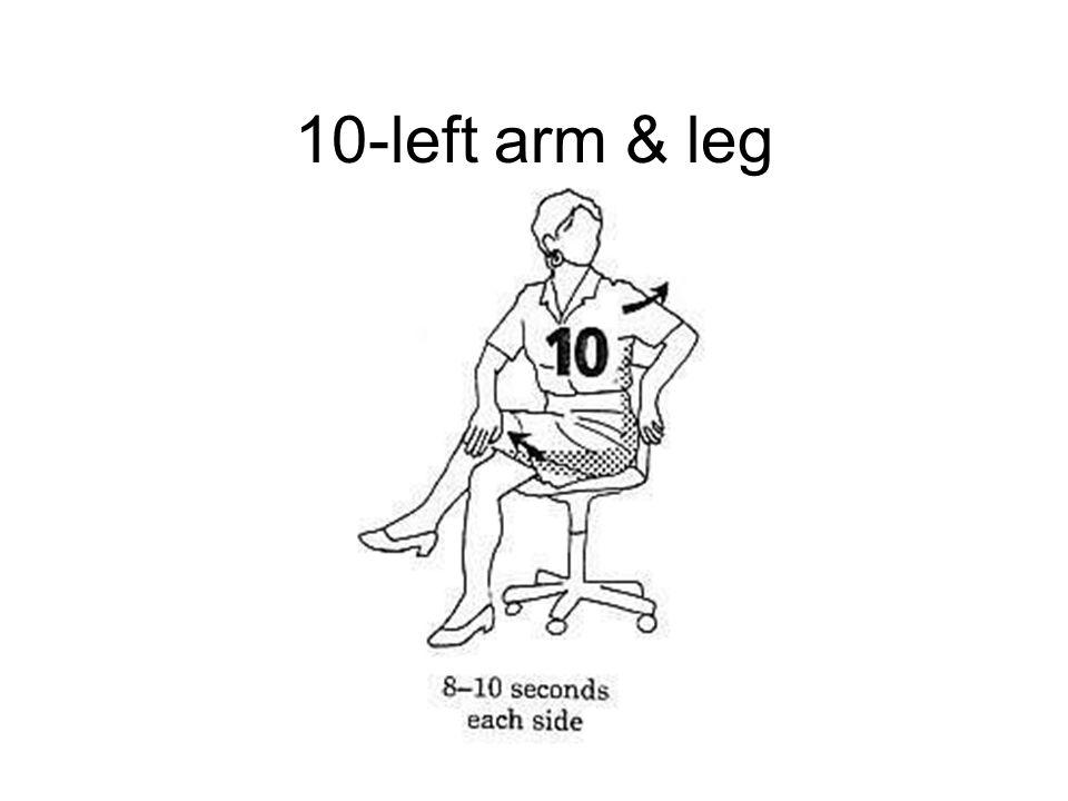 10-left arm & leg