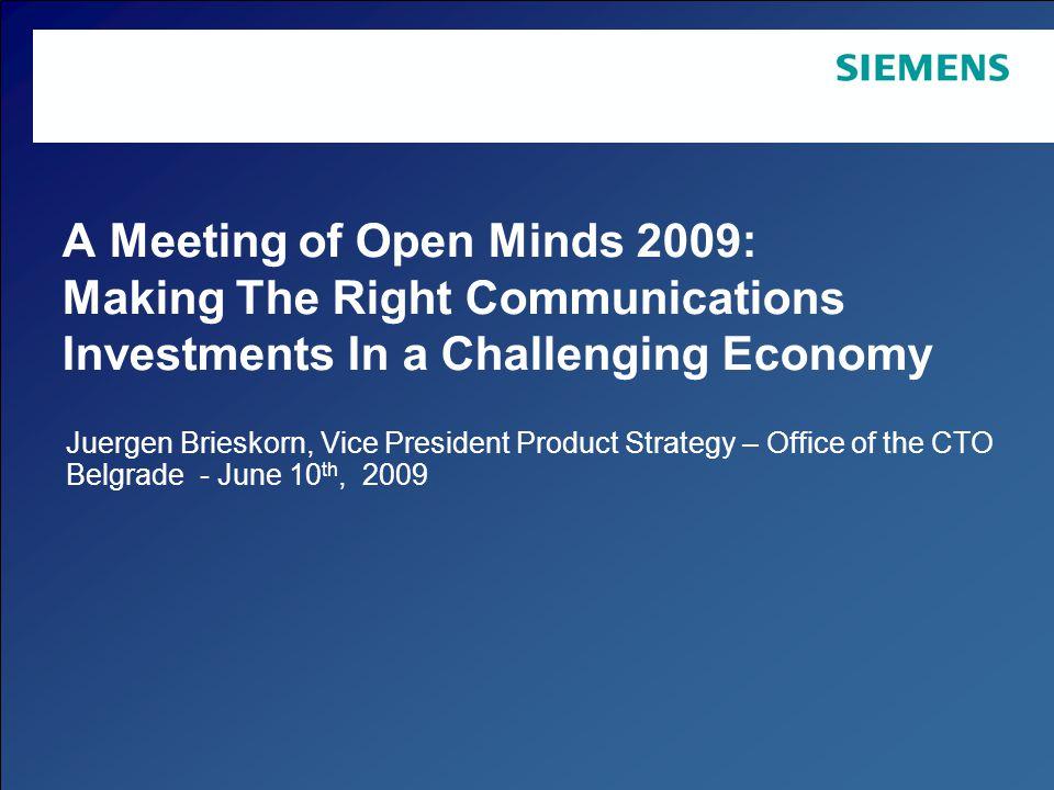 Page 12 Copyright © Siemens Enterprise Communications GmbH & Co.