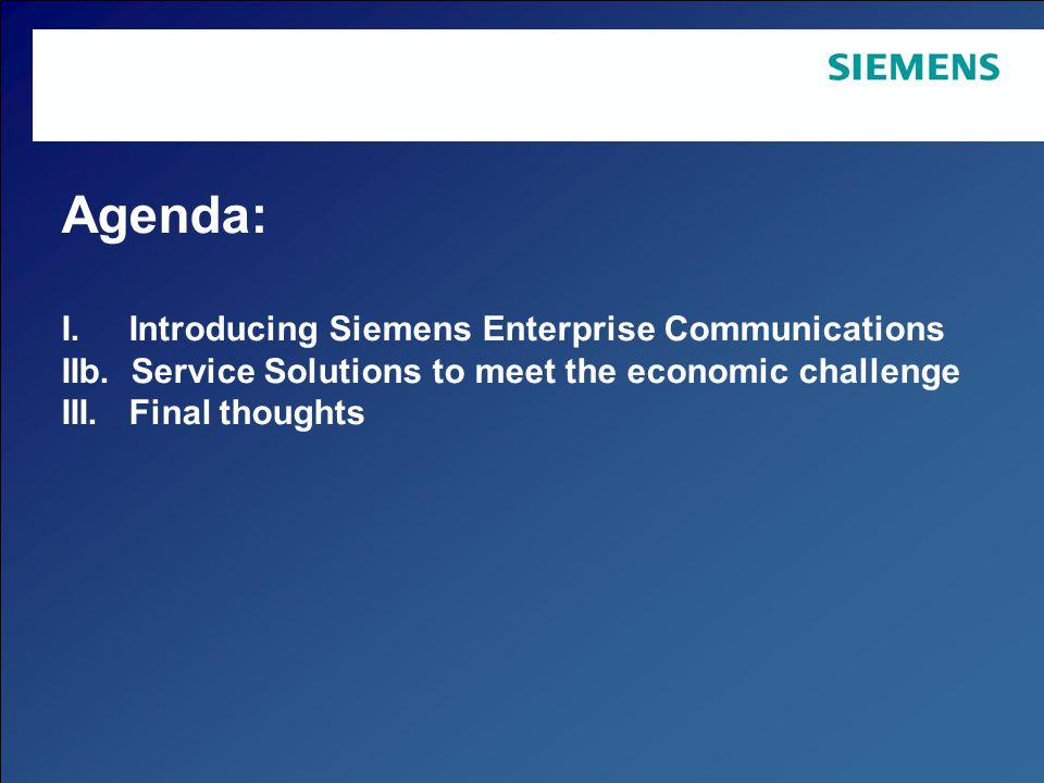 Page 3 Copyright © Siemens Enterprise Communications GmbH & Co.