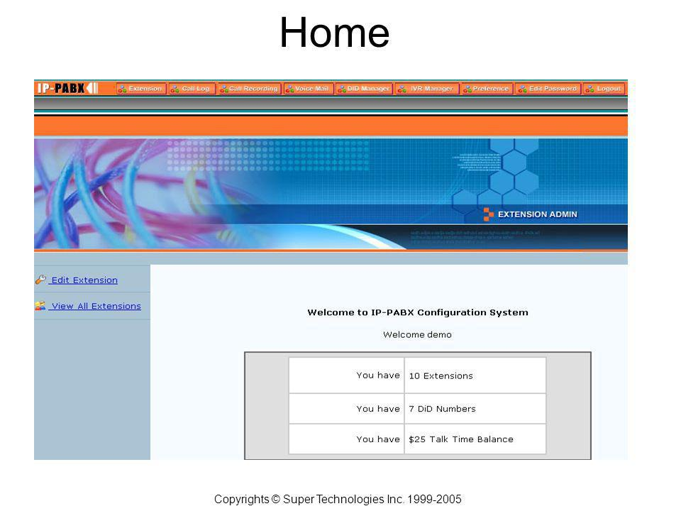 Home Copyrights © Super Technologies Inc. 1999-2005