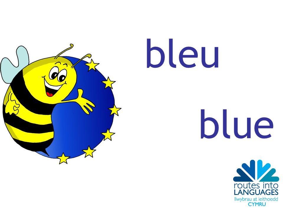 bleu blue