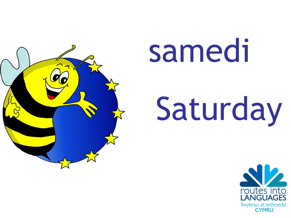 samedi Saturday