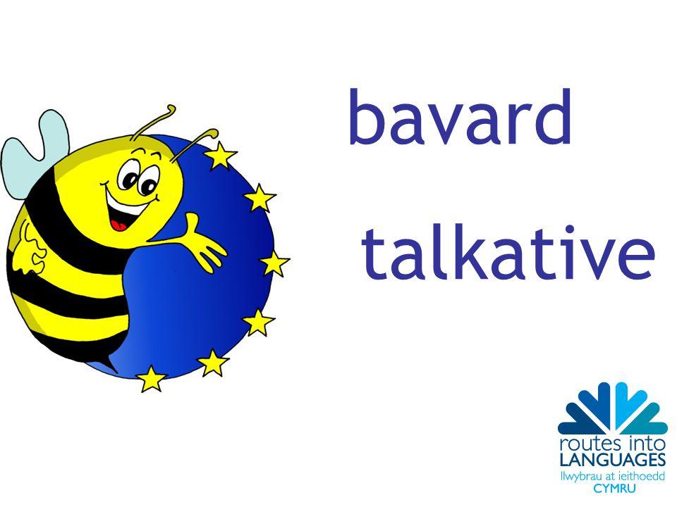 bavard talkative