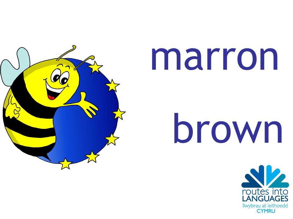 marron brown