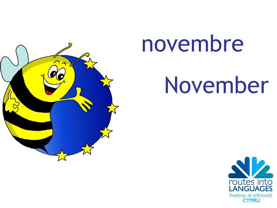 novembre November