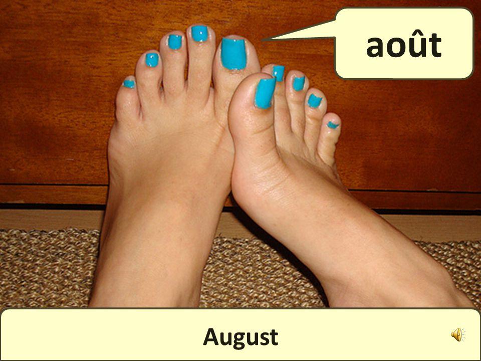 July juillet
