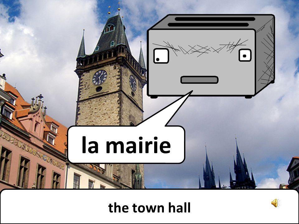 the bank la banque