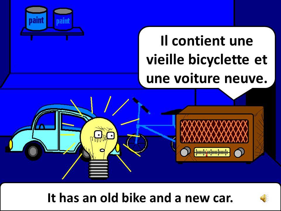 It is NOT your garage. It is my garage. Cest PAS ton garage. Cest le mien.