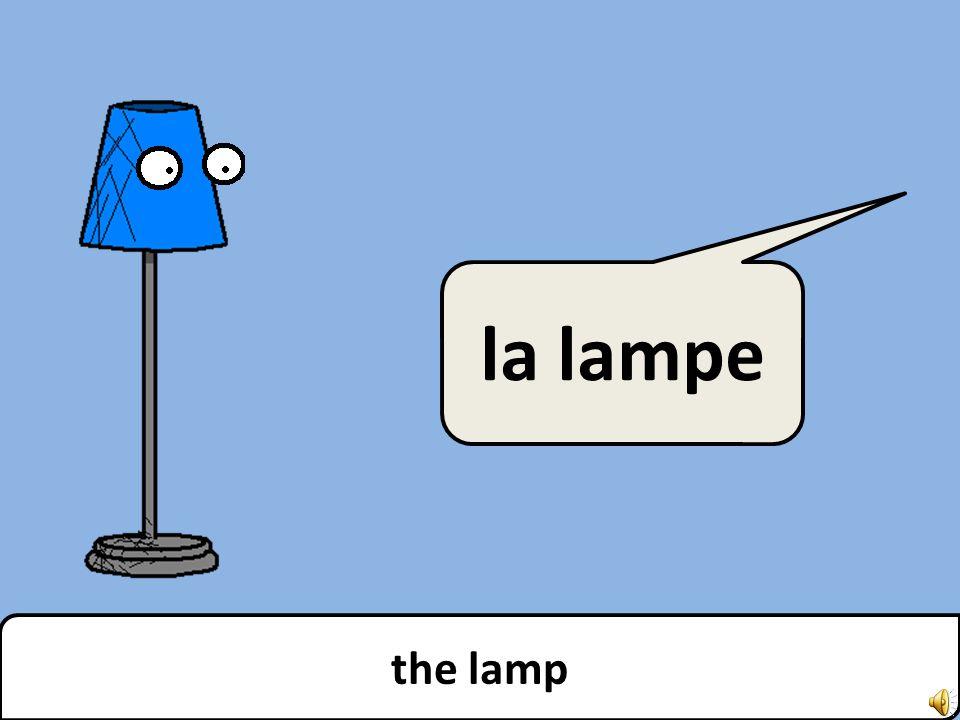 the lamp la lampe