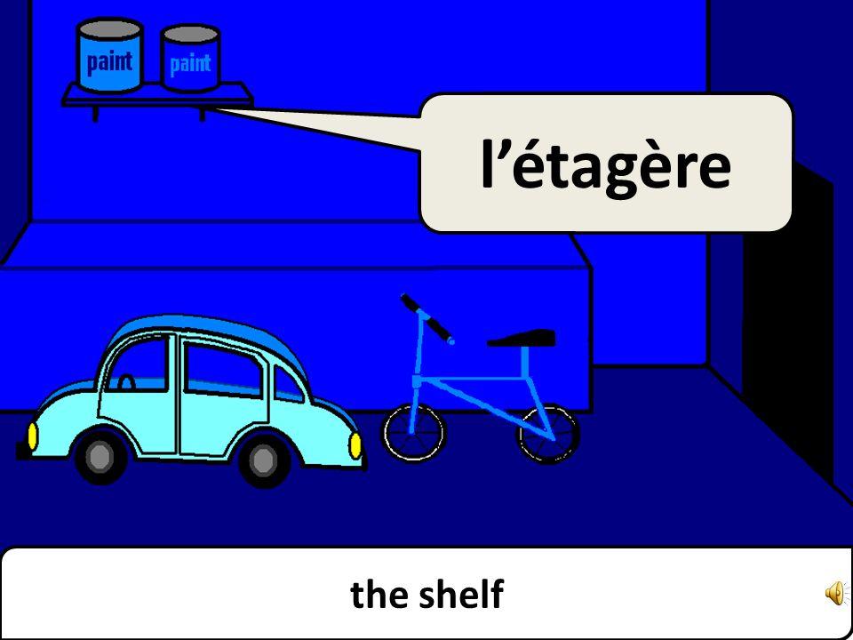 the shelf létagère