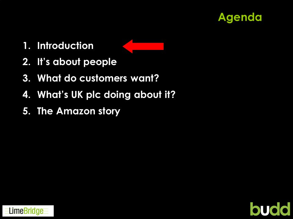 And objectively to win the customers praise (ACSI Survey)
